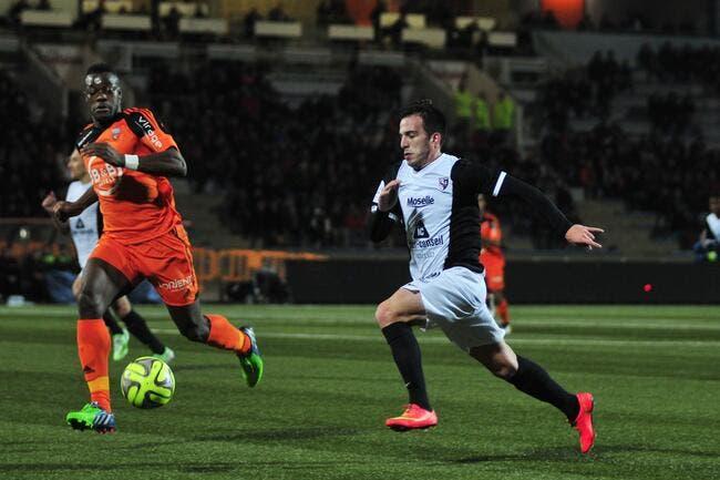 Metz n'a rien vu face au Lorient express