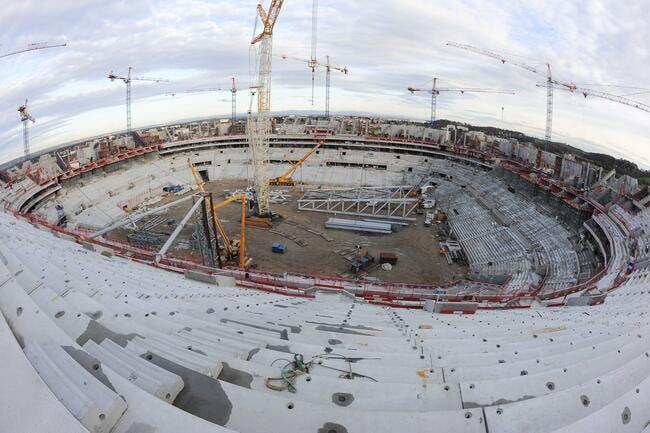 Aulas a deux pistes à 12ME par an pour le naming du stade
