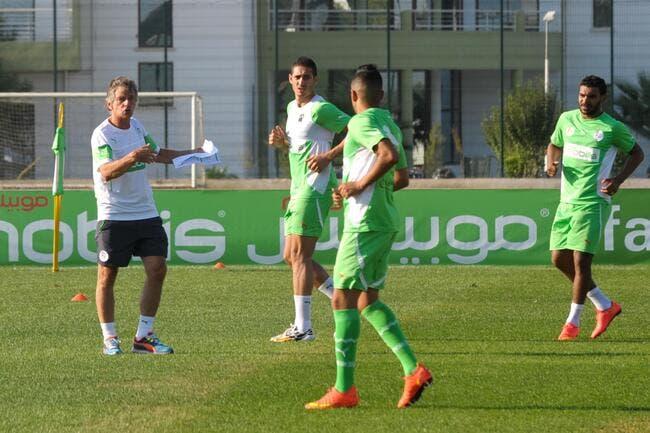 Les 23 Algériens pour la CAN