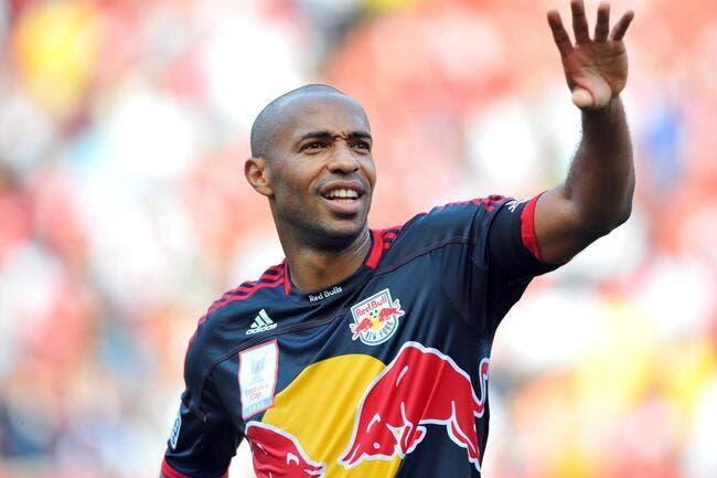 La FFF rend hommage à Thierry Henry, un «joueur d'exception»