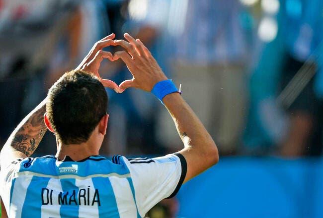 Di Maria détrône le Roi Messi en Argentine !