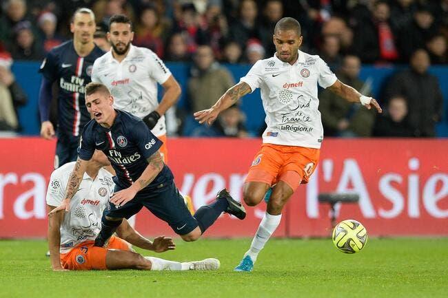 Le match moyen du PSG, c'est grâce à Montpellier