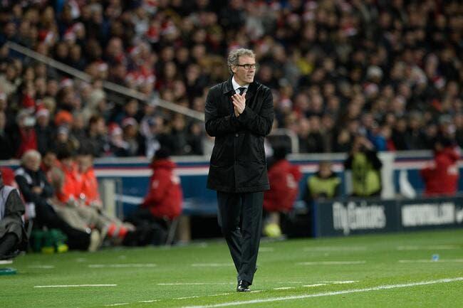 En 2015, Laurent Blanc va s'énerver avec le PSG