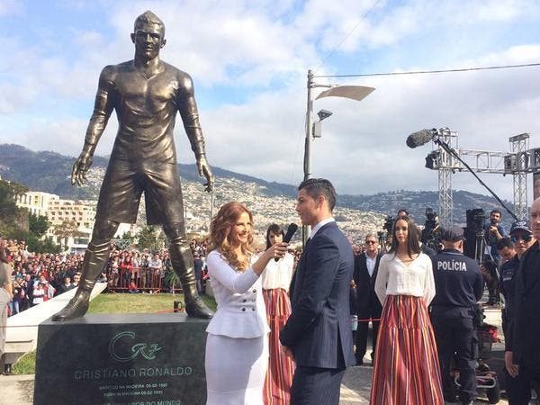 Le détail qui tue sur la statue de Cristiano Ronaldo