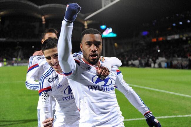 Vidéo : Les 17 buts de Lacazette avec l'OL en Ligue 1