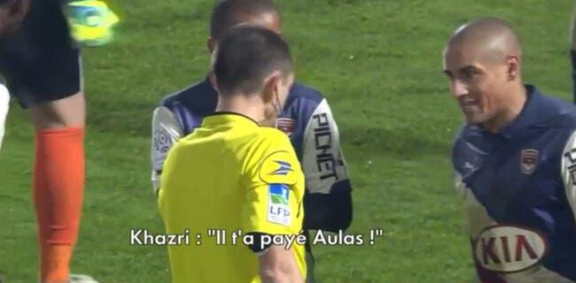 Vidéo : Quand Khazri accuse l'arbitre d'être acheté par Aulas !