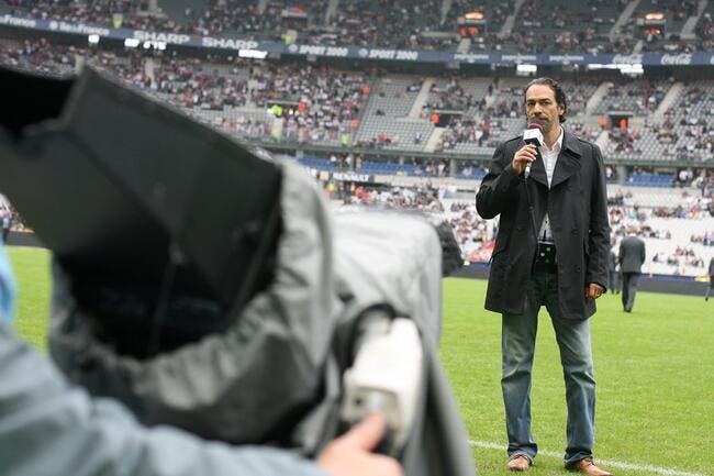 Denis Balbir version Père Fouettard avec le PSG