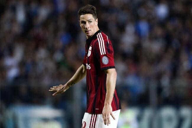Le Milan AC, Chelsea, l'Atlético… Tous d'accord pour Torres ?