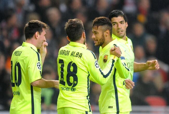 Messi et Neymar, vus par Suarez