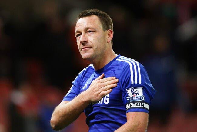 Mourinho tire son chapeau à la légende Terry