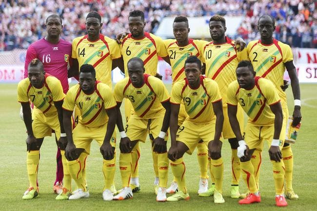 Maïga et Diabaté avec le Mali