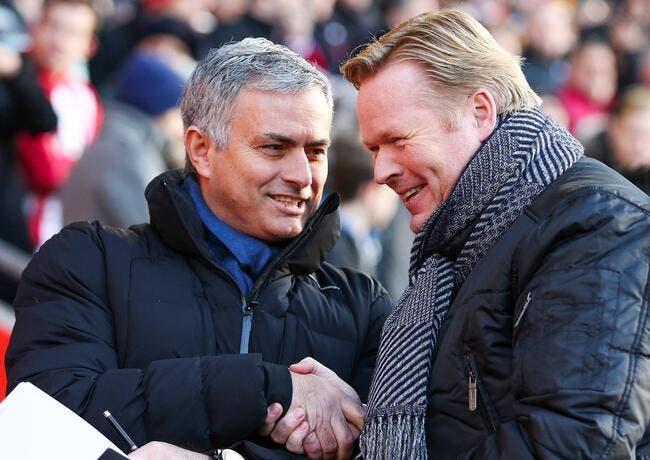 Mourinho découpe l'arbitre en deux