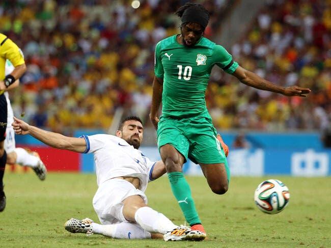 La Côte d'Ivoire avec Aurier et Gradel à la CAN