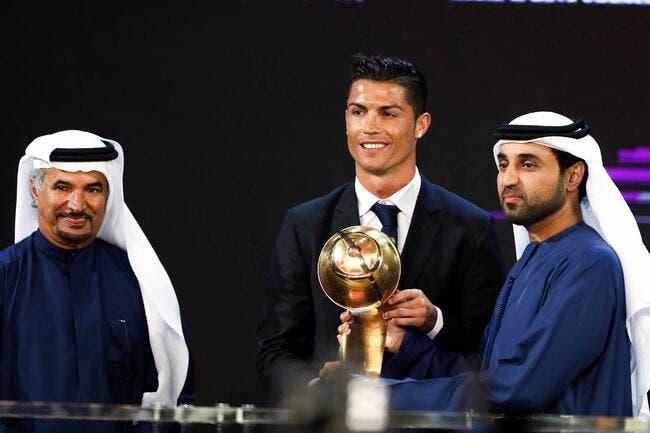 Les récompenses s'enchaînent pour Cristiano Ronaldo