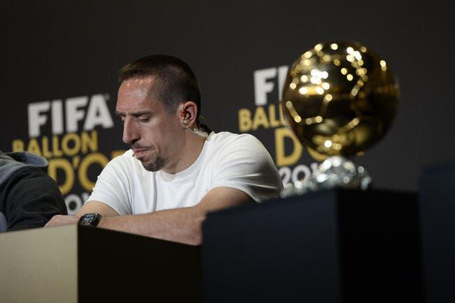 Ribéry l'avoue, il savait qu'il ne serait pas Ballon d'Or