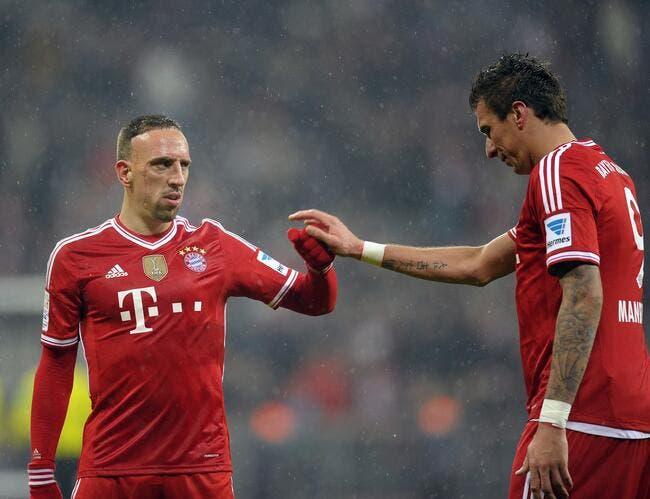 Coup dur pour Ribéry et le Bayern