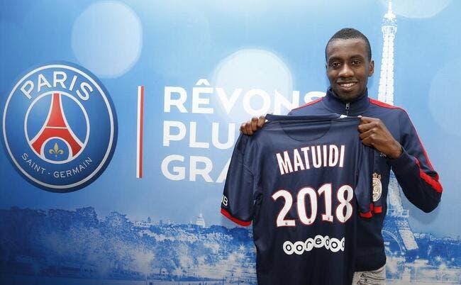 Officiel : Blaise Matuidi prolonge au PSG jusqu'en 2018 !