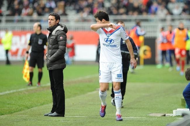 L'OL prépare le forfait de Gourcuff pour Montpellier