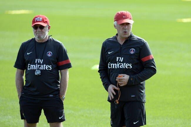 Jouer le PSG en finale de la LDC, le rêve d'Ancelotti et Mauri