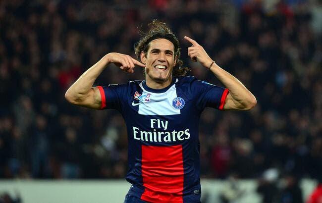 Le PSG champion d'Europe, Cavani y croit