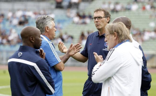 Blanc pense faire mieux qu'Ancelotti au PSG