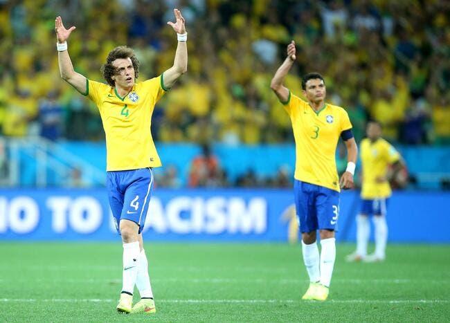 Le PSG a le «malade» Thiago Silva et le «médecin» David Luiz