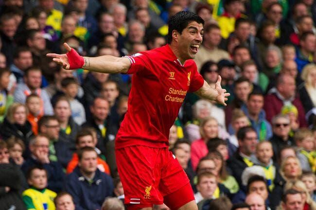 Liverpool montre ses dents, et veut 100 ME pour Suarez