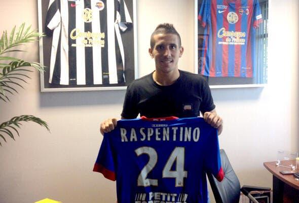 Officiel : Raspentino signe à Caen jusqu'en 2017