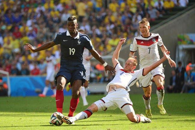 Les notes de France-Allemagne : Cabaye, Pogba, le milieu a coulé