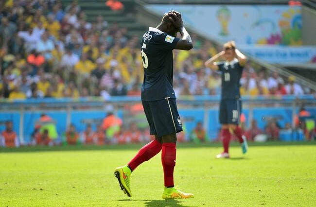 Sakho n'est pas sorti sur blessure contre l'Allemagne