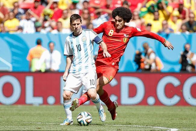 Wilmots pas du tout épaté par l'Argentine