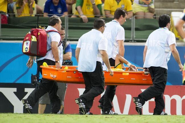 Le Brésil a eu une énorme frayeur pour Neymar