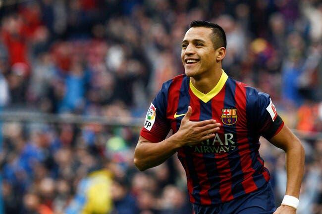 Alexis Sanchez fonce vers Arsenal
