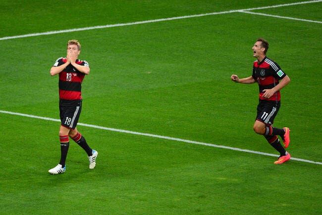 Kroos a vécu un match de rêve avec l'Allemagne