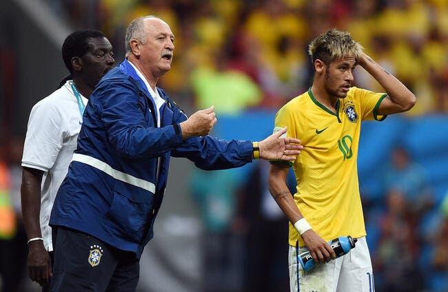 Le Brésil aurait pris la même raclée avec Neymar assure Scolari