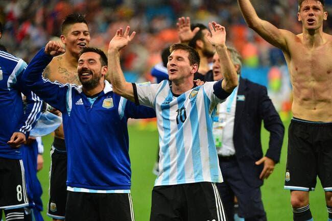 Argentine-Allemagne, Lavezzi lance la finale