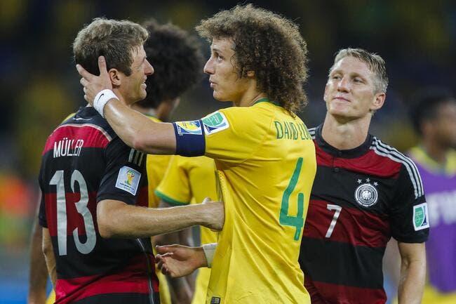 L'Allemagne avait décidé à la pause de ne pas humilier le Brésil !