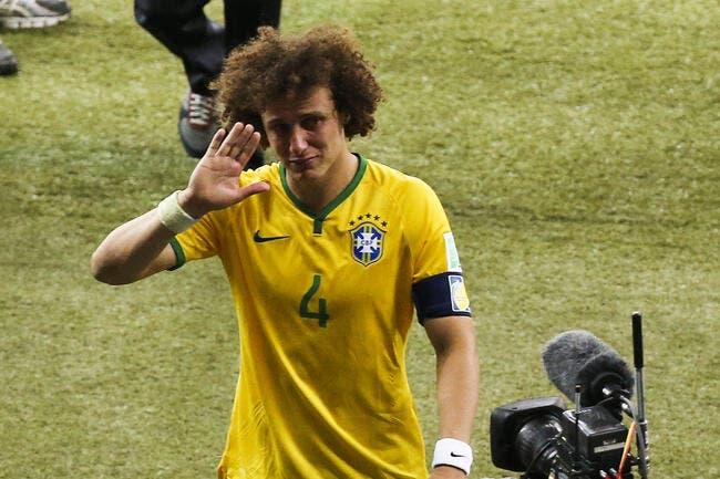 Mourinho ne laisse pas tomber David Luiz, même au PSG