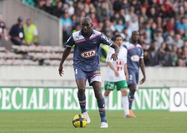 Alou Diarra s'entraîne avec Bordeaux