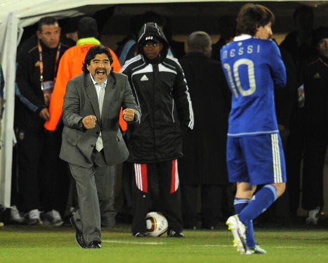 Maradona est prêt à s'avouer vaincu face à Messi