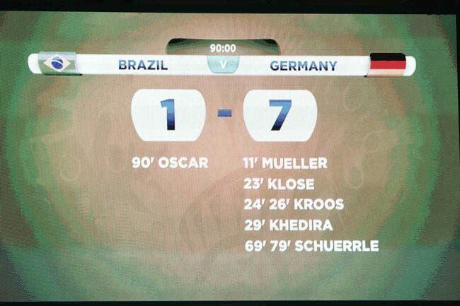 Vidéo : 7-1 dans une version qui fait très mal au Brésil !