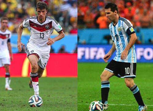 Allemagne-Argentine : C'est la lutte finale