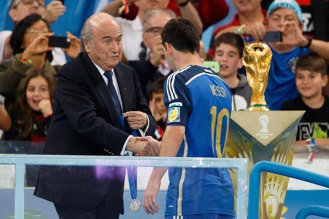 Blatter «surpris» de voir Messi meilleur joueur du Mondial