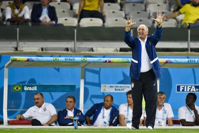 Le Brésil vire Scolari
