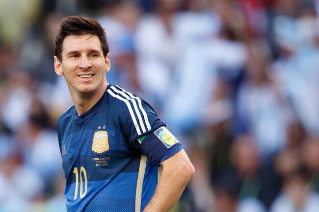 Le meilleur joueur du Mondial est… Messi