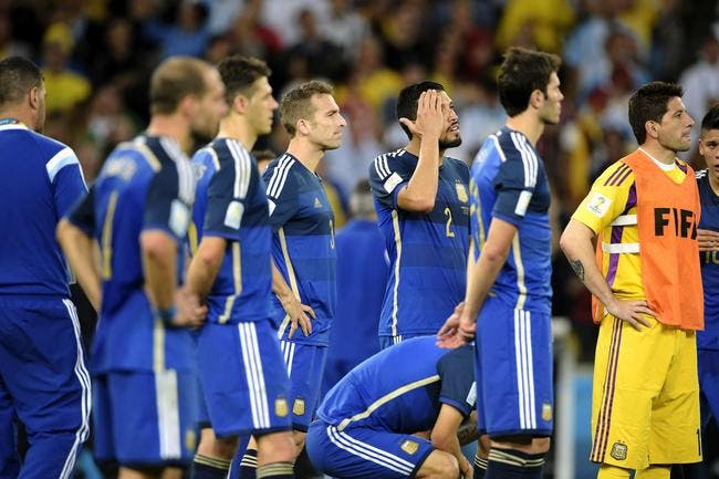 Mascherano et les occasions de l'Argentine