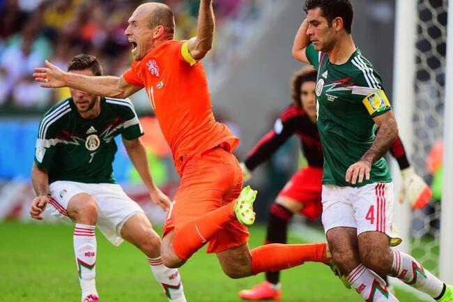 Robben rentre du Mondial avec le prix du Cdt Cousteau...