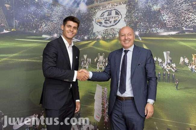 La Juventus s'offre Morata pour 20ME