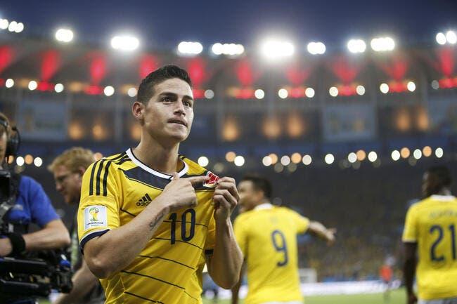 James Rodriguez au Real Madrid ? Un indice troublant