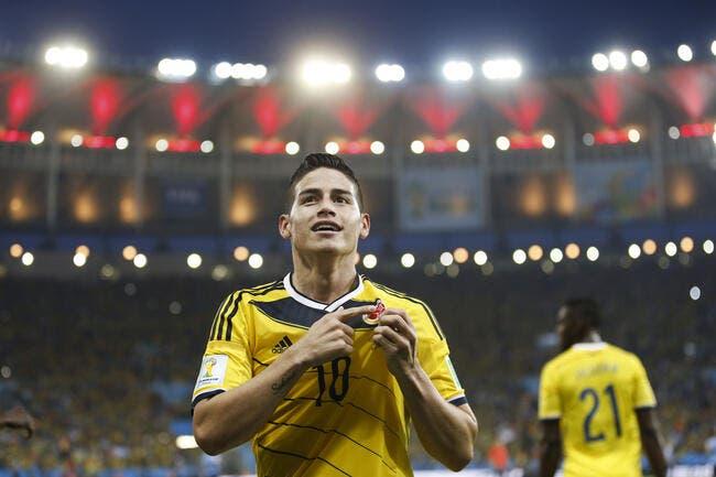 Monaco accepte 90ME du Real Madrid pour James Rodriguez